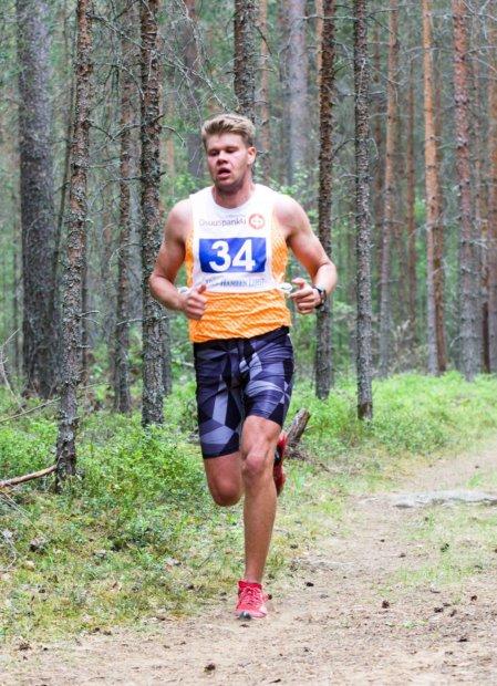 Jaakko Ranta voitti Aitoo Trailin. Kuva: Pekka Mikkola.
