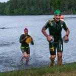 Pikonlinna Swimrun yhdistää hauskasti juoksun ja uinnin