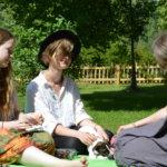 Väki viihtyi Pytingin piknikkonsertissa