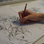 Aikuiset pääsevät piirtämään taidemuseossa
