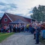 Maaseutufestivaalin tunnelmaa. Kuva: Hannu Söderholm