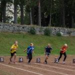 Yleisurheilun viikkokilpailut jatkuivat