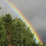 Kaunis sateenkaari