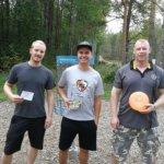 Frisbeegolfissa kisailtiin Luopioisissa