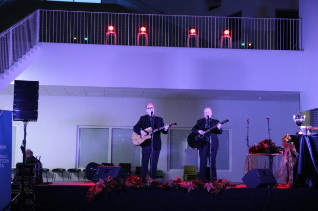 Mika ja Turkka Mali olivat rouhealla esiintymistuulella.
