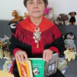 Saamelaiskirjailija Sahalahden kirjastossa