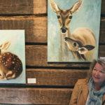 Kokeneen maskeeraajan ja nukketaiteilijan tuorein aluevaltaus ovat maalaukset