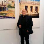 Timo Vuorikosken öljyvärimaalauksia galleriassa