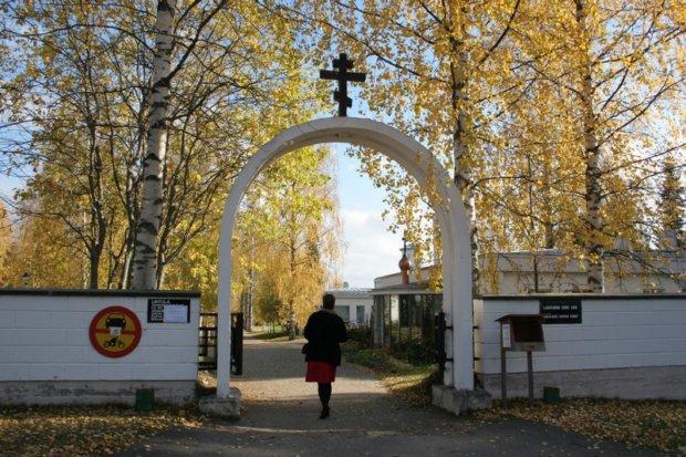 Pälkäneläinen Anu Salminen on ahkera Lintulan-kävijä. Heinävedellä oleva ortodoksinen nunnaluostari kutsuu pälkäneläisortodoksia hiljentymään. Luostari on Jumalan puutarha. (Kuva: Anu Salmisen albumi)