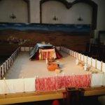 Raamatun ilmestysmajan pienoismalli Kangasalle