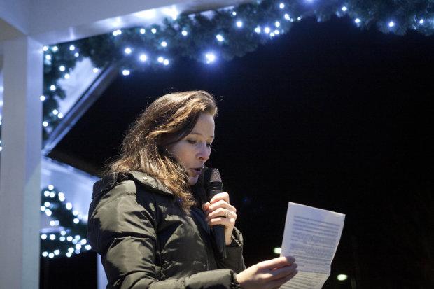Pälkäneen joulun avannut kunnanjohtaja Janita Koivisto loi katseen vuoden kohokohtiin sekä kunnan veto- ja pitovoiman kehittämiseen.