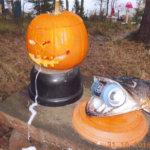 Halloween-tunnelmaa