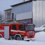 Hälytys palosta tuli  tiistaina iltapäivällä kello 13.20.