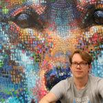 Mosaiikit vaativat inspiraatiota ja raakaa työtä