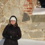 Rauniokirkko on Carita Lindholmille tärkeä paikka jo lapsuudesta.