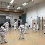 Taekwondon ottelun oppia saatiin Huutijärven koululla