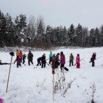 Sinisudet ja Korpisudet leireilivät Tylypahkan Talvijuhlissa