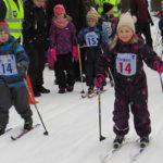 Luopioisten Hippo-kisoissa sivakoi 44 hiihtäjää