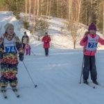 Hiihtojen kulta-aikaa: Kuvaukselliset Nappulahiihdot keräsivät viikonloppuna ennätyksellisen osanottajamäärän