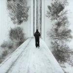 Laipanmaan talviset maisemat hurmaavat kopterivideolla