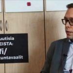 Isis-morsianten kotoutus, kuntaliitos Tampereen kanssa, aktiivisuusmallin jatko? Katso, mitä vastaa kokoomuksen Jocka Träskbäck