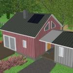Pienten talojen perinteet jatkuvat Luopioisissa – esittelyssä uusin minitalo