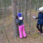 Rautajärven koululla vietettiin Vihreän lipun pajapäivää