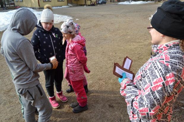 Pajapäivää vietettiin Rautajärven koululla huhtikuun alussa.