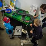 Monet yhdistykset esittelevät lapsille ja nuorille suunnattua toimintaa. Tänä vuonna näytillä on muun muassa mopo.