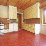 Keittiö on rakennettu 1980-luvulla.
