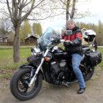 Pälkäneläinen Reija Lahtinen ajaa naismotoristien maailman laajuisessa viestissä. Mukana on yli 16000 moottoripyöränaista.
