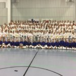 Taekwondon harrastajat kokoontuivat leireilemään