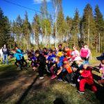Maastojuoksujen suosituimman sarjan voittoon kiri Jenna Minkkinen