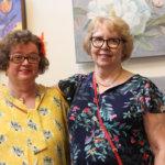 Anneli Kokko-Haaviston ja Anja Niemisen taidetta esillä Arkissa