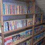 Teemu Pusan taskari-kokoelmasta löytyvät kaikki 477 Aku Ankan taskukirjaa sekä vuosien varrella julkaistut erikois- ja teemanumerot.