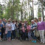 Suomi-Venäjä-Seuran Kangasalan osasto retkeili Tuusulanjärvellä