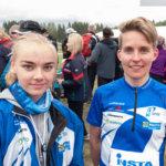 Pälkäneen Luja-Lukon Venlojen aloittaja Katja Linnainmaa oli maalissa vastassa ankkuriosuuden juossutta Hannele Kinnusta.