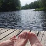Perhe päätti testata Kangasalan uimarantoja – naapurista löytyi top-listalle positiivinen yllätys