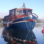 Itäsaksalaisen valtamerialuksen pelastusvene sai uuden elämän – Pullea Bertta puksuttaa nyt Pälkäneen vesissä