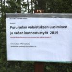 Syrjänharjun kuntorata saa uudet 100000 euron valot – Remontin aikana alueella on vaarallista liikkua
