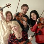 Kukkia Ensemblen kvartetti keikkailee Aslak klubin Venetsialaisissa
