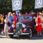 Suomen Mercedes-Benz -klubi viettää 40-vuotisjuhlia Mobiliassa