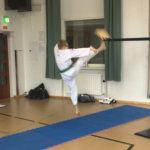 Taekwondon murskausta ja aikidoa Huutijärvellä