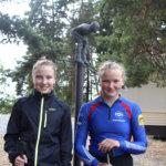 Saltbackan kaksoset saavat hiihto-oppia olympiavoittajalta – Amanda ampuu aseella, jolla on voitettu Kaisa Mäkäräinen
