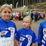 Luja-Lukon juniorisuunnistajat vahvasti mukana aluemestaruuskisoissa