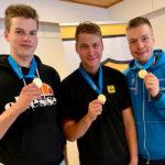 Kangasalan Kymppi 64 -ampujat tarkkoina liikkuvan maalin SM-kisoissa