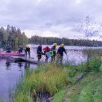 """""""Hätäkeskus on saanut ilmoituksen järveltä kantautuneista avunhuudoista"""" – Pitkäjärvellä harjoiteltiin tositoimia"""