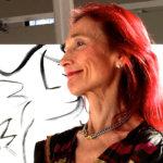 Riitta Nelimarkka kertoo taiteestaan taiteilijatapaamisessa