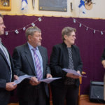 Itsenäisyyttä juhlittiin Sappeen koululla – kolme palkittiin mitalilla