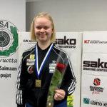 Kangasalan liikkuvan maalin ampujat olivat SM-kisoissa huippuvireessä – Ida Heikkilä täräytti uuden Suomen ennätyksen